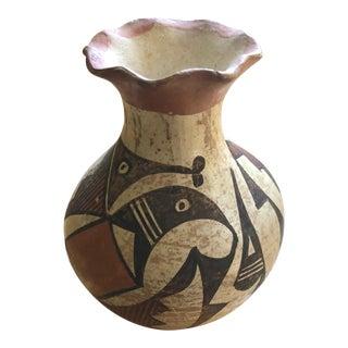 South Western Acoma Pueblo Vase For Sale