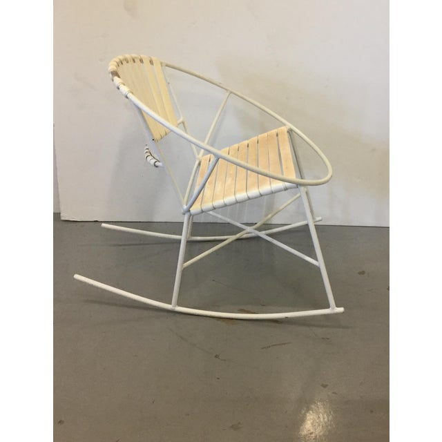 Mid-Century Outdoor Rocking Chair - Image 7 of 8