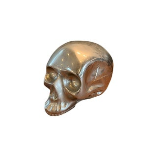 Metal Silver Skull For Sale