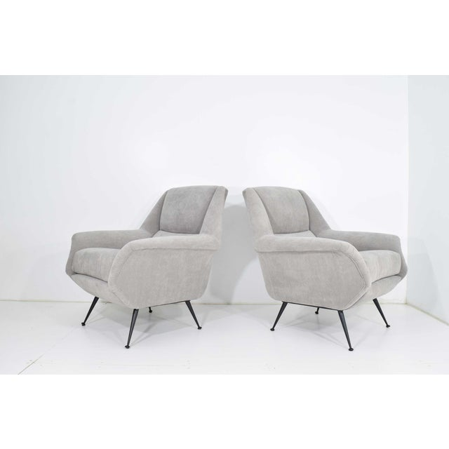 Gigi Radice Lounge Chairs - a Pair For Sale - Image 9 of 10