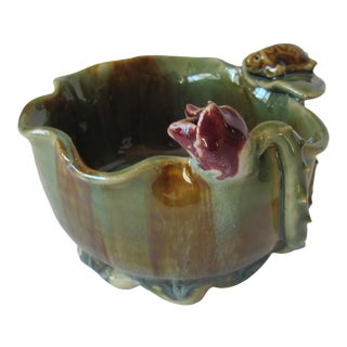 Lotus Bowl With Turtles For Sale