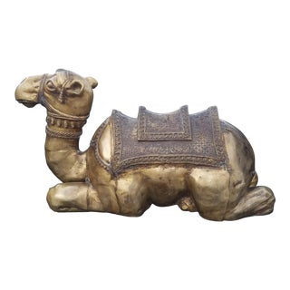 Maitland Smith Seated Bronze Camel For Sale
