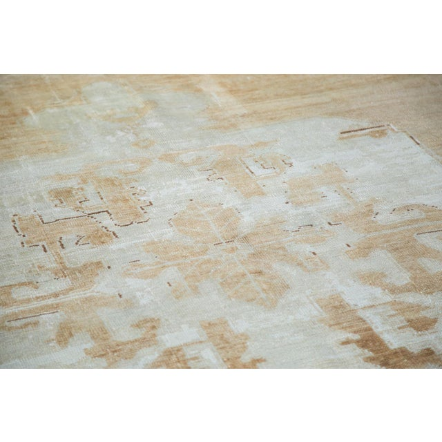 "Distressed Oushak Carpet - 5'10"" X 9'1"" For Sale - Image 5 of 10"