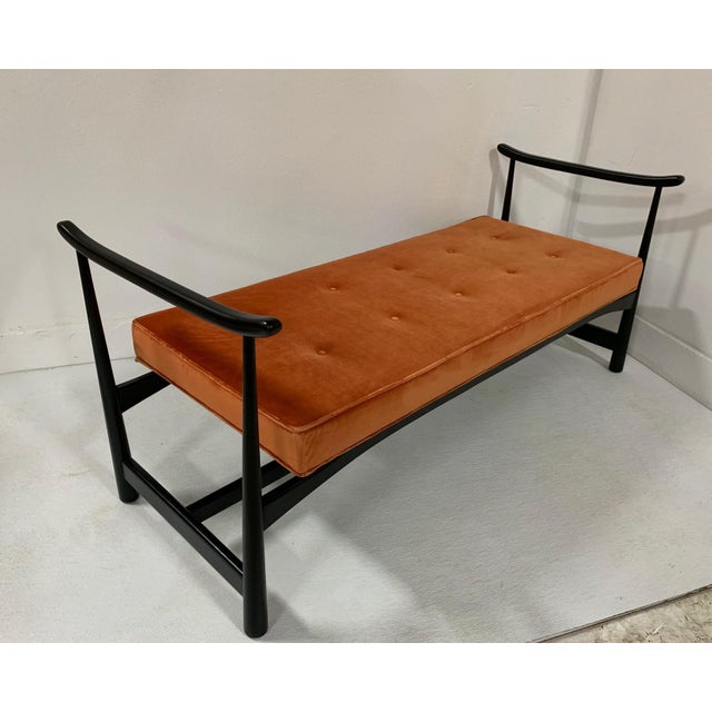 1950s Asian Style Bench For Sale - Image 4 of 6