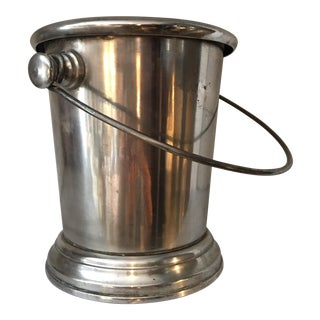 Vintage Silverplate Ice Bucket