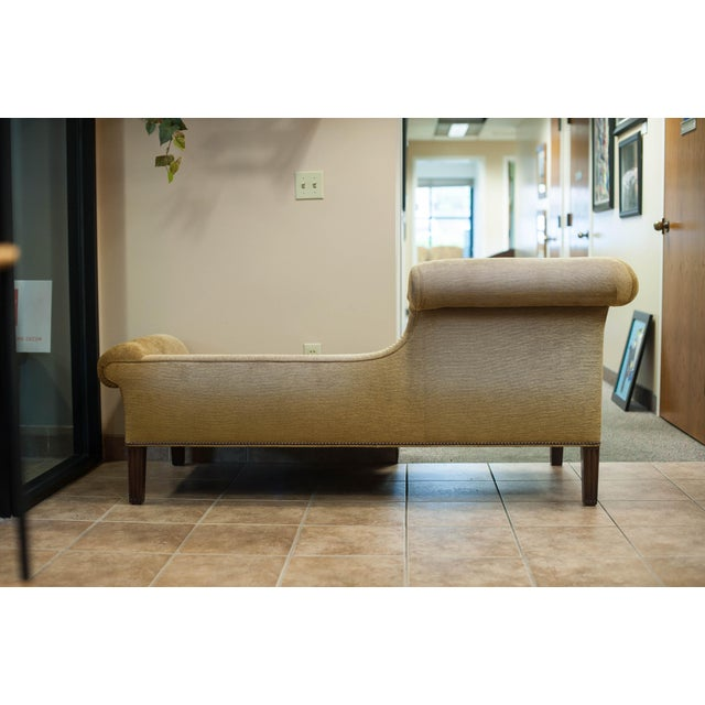 Chanel Chaise Lounge Chair with Nailheads - Image 5 of 9