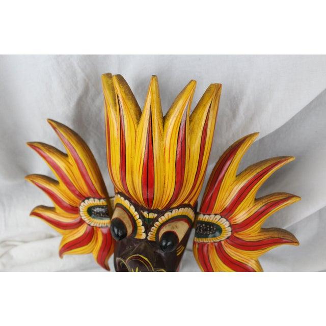 Vintage Asian Dragon Mask For Sale - Image 4 of 8