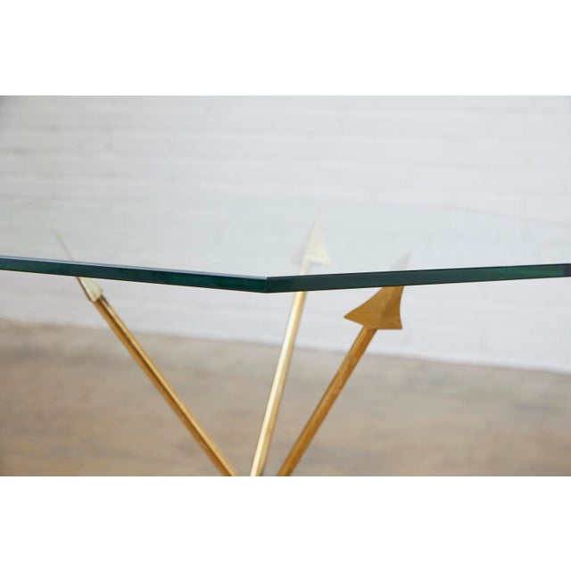 Pair of Maison Jansen Style Directoire Arrow Drink Tables For Sale - Image 10 of 13