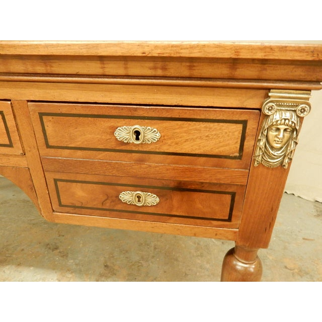 Brown 19th Century French Desk For Sale - Image 8 of 9
