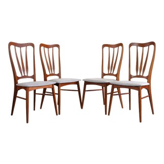 1960s Vintage Koefoeds Hornslet 'Ingrid' Chairs- Set of 4 For Sale