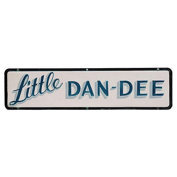 Americana Little Dan-Dee Sign For Sale - Image 3 of 3