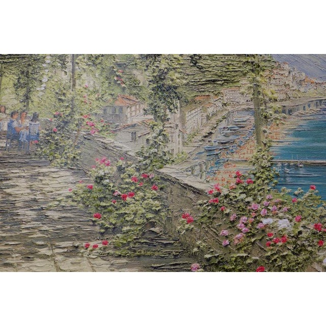 Liliana Frasca 'Amalfi' the Museum Shop Brushstrokes Collection Print For Sale - Image 6 of 12