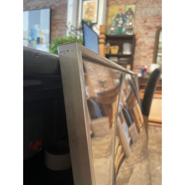1960's Square Convex Mirror For Sale In Los Angeles - Image 6 of 12