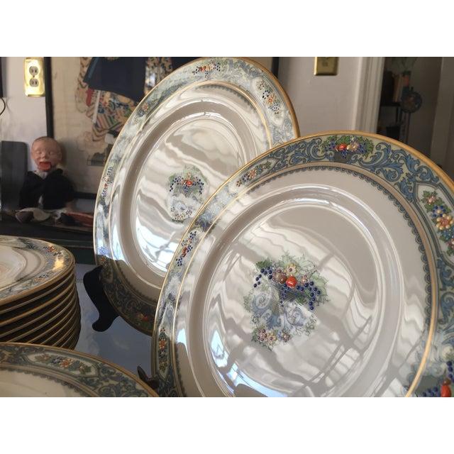 5-Piece Lenox Autumn China Setting- Set of 12 - Image 9 of 11