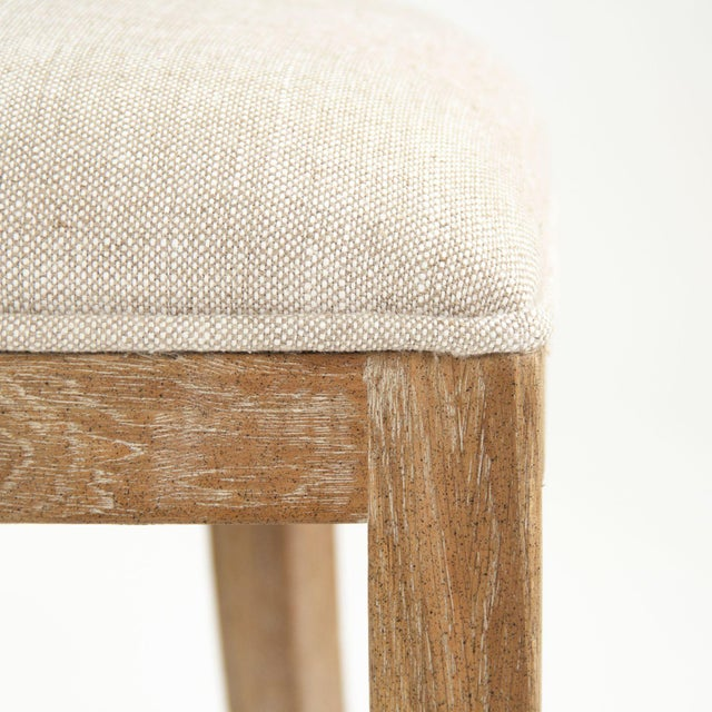 Selborne Cane Back Side Chair in Cream For Sale - Image 4 of 6
