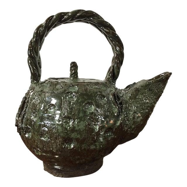 Handmade Clay Teapot - Image 1 of 7