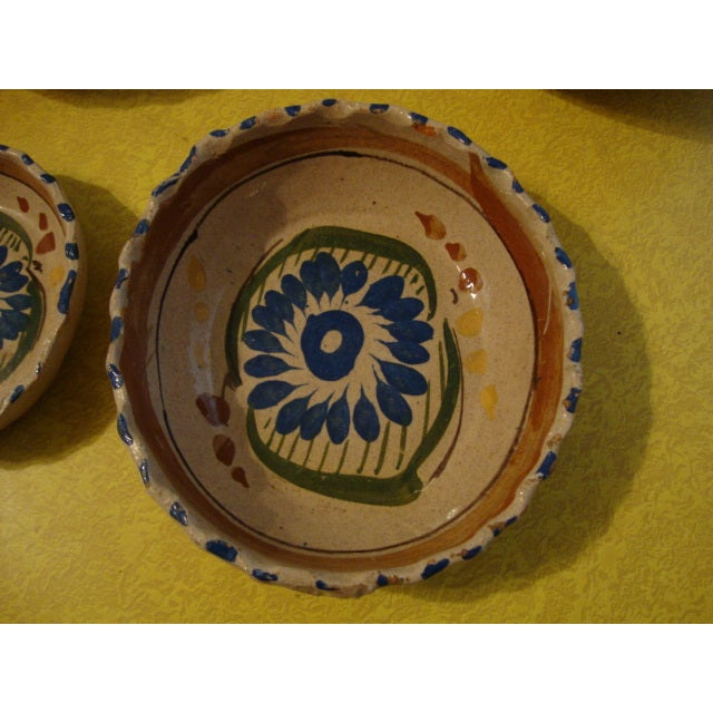 Mexican Tlaquepaque Nesting Bowls - Set of Four - Image 5 of 10