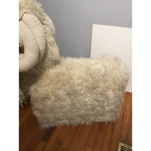1970s Edna Cataldo Ram Bench For Sale - Image 5 of 11