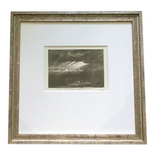 """The Fifth Plague of Egypt"" Joseph Mallord William Turner Framed Print For Sale"