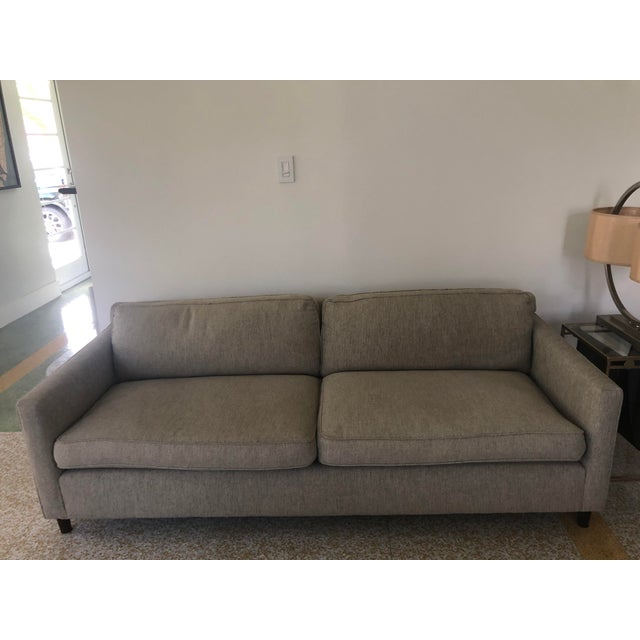 2010s Mitchell Gold+Bob Williams 2-Seat Sofa For Sale - Image 5 of 5