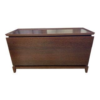 Custom Solid Wood Three Drawer Dresser For Sale