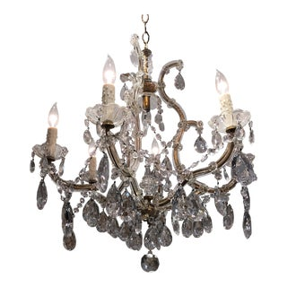 Antique Italian Chandelier For Sale