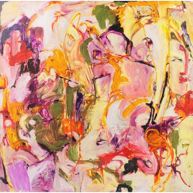 Summer Garden by Elke Behrens, 1994 For Sale - Image 12 of 13