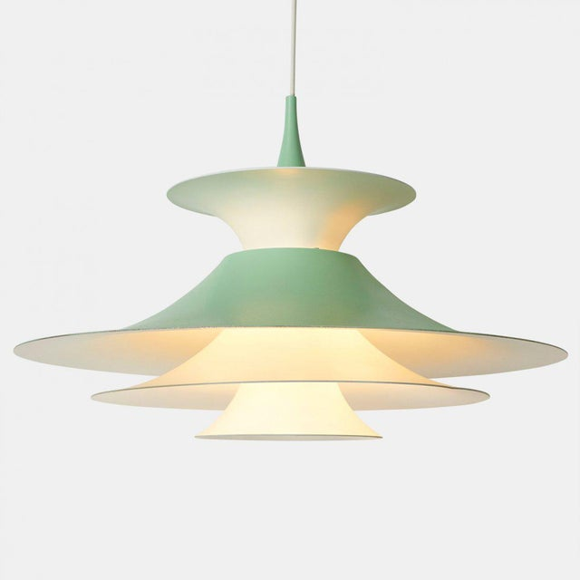 Mid-Century Modern Eric Balslev Pendant Lamp For Sale - Image 3 of 6
