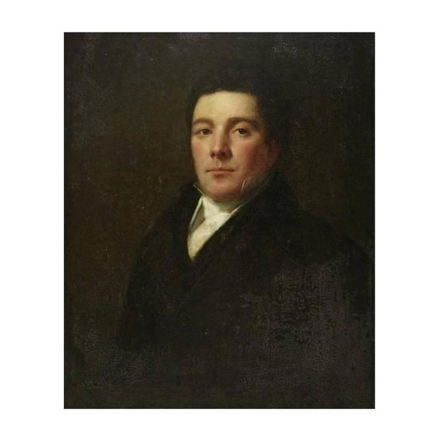 English Traditional Early 19th Century English Portrait For Sale - Image 3 of 4