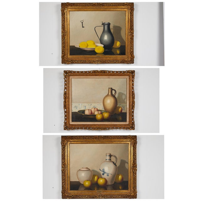 Pair of 19th Century Still Life Oil Paintings For Sale - Image 11 of 13