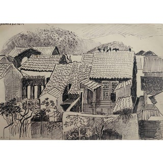 Angra Dos Reis Brazil Drawing by McKinney For Sale