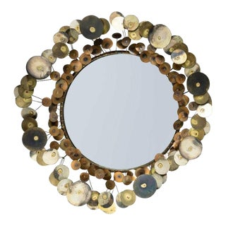 Curtis Jere Raindrop Mirror For Sale