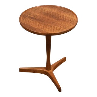 Danish Teak Side Table by Hans Andersen For Sale