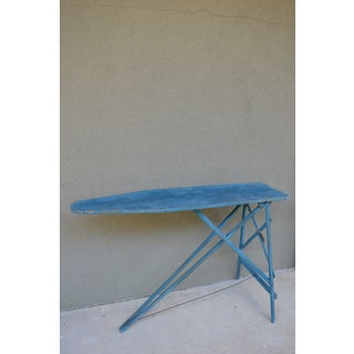 Antique Painted Ironing Board Table Preview
