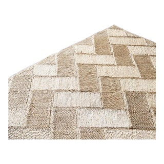 Bhola Pattern Woven Jute Rug For Sale