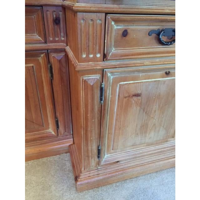 Wood Thomasville Santiago Entertainment Center / Armoire For Sale - Image 7 of 11