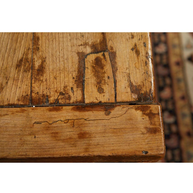 French Country Dining Table With Pull Out Leaves For Sale In Los Angeles - Image 6 of 12