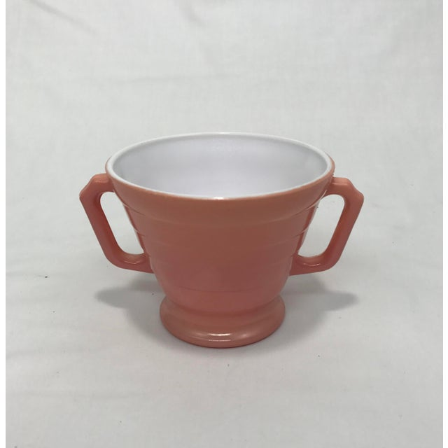 1940s Moderntone Sugar & Creamer - A Pair For Sale - Image 5 of 8