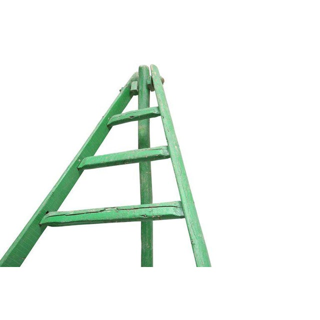 Mid-Century Modern 19th Century Fruit Picking Ladder For Sale - Image 3 of 8