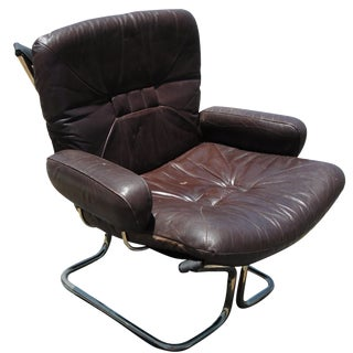 Ingmar Relling for Westnofa Rosewood Lounge Chair For Sale