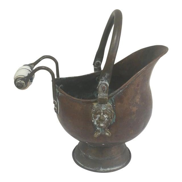 Delft Copper Bucket For Sale