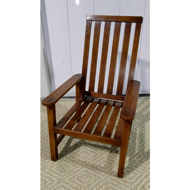 Rose Tarlow High Back Chair in Walnut Finish For Sale - Image 10 of 11
