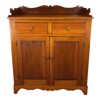 Antique 19th Century Mixed Wood Jelly Cupboard For Sale