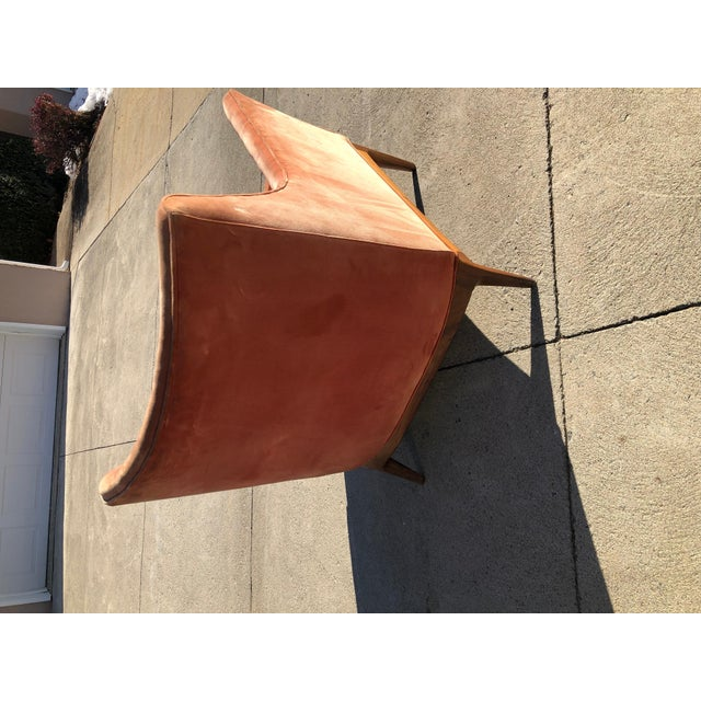 Paul McCobb Lounge Chair Walnut For Sale - Image 9 of 10