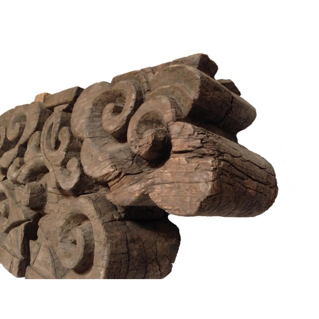 Early 19th Century Wood Block Garden Accent For Sale - Image 4 of 7