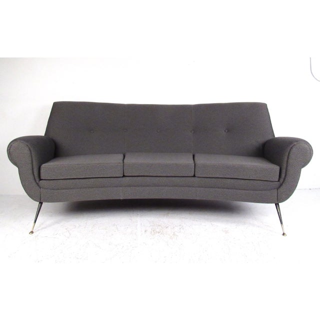 Mid-Century Modern Sculptural Modern Sofa by Gigi Radice For Sale - Image 3 of 11
