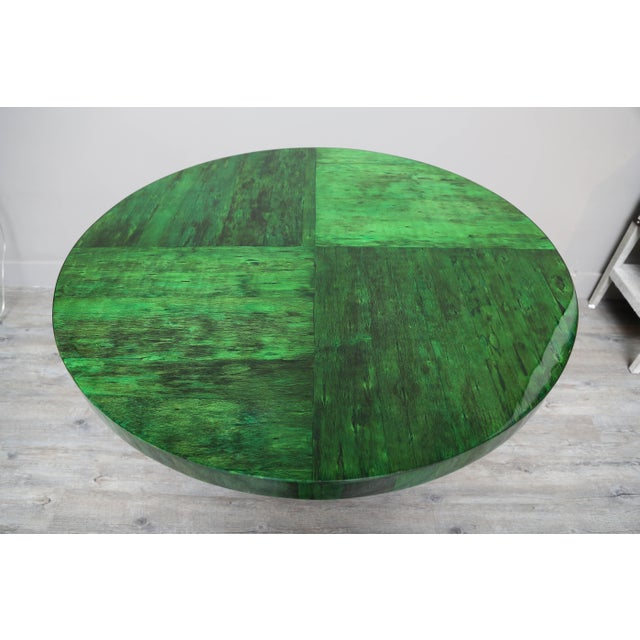 Mid-Century Modern Papaya Dining or Center Table by Serge De Troyer, Belgium, 2018 For Sale - Image 3 of 8