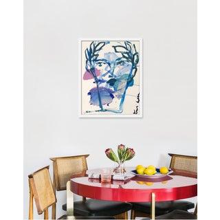 "Medium ""Roman Face"" Print by Leslie Weaver, 19"" X 24"" Preview"