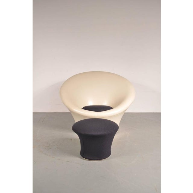Large Mushroom Chair with Foot Stool by Pierre Paulin for Artifort, 1960s - Image 5 of 8