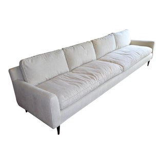 1957 Singer & Sons Gio Ponti Bespoke Mid-Century Upholstered Sofa For Sale